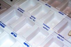 Коробка лекарств Стоковое фото RF