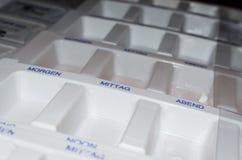 Коробка лекарств Стоковые Изображения