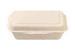 Коробка еды волокна завода Стоковая Фотография RF