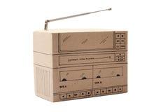 Коробка заграждения картона Стоковые Фото