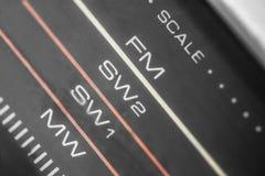 коробка заграждения радио 1980s серебряная Стоковые Фотографии RF