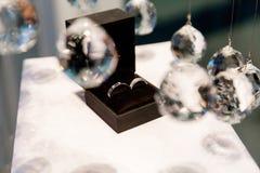 коробка звенит венчание стоковые фотографии rf