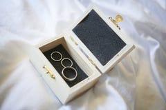 коробка звенит венчание Стоковое Изображение RF