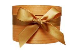 коробка золотистая Стоковое Изображение RF