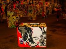 Коробка искусства Стоковая Фотография