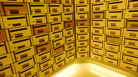 Коробка или почтовый ящик столба шкафчика стоковые фотографии rf