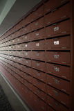 Коробка или почтовый ящик столба шкафчика Стоковые Изображения RF