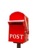 Коробка или почтовый ящик столба Стоковое фото RF