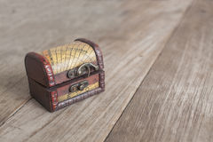 Коробка казны Стоковые Фотографии RF