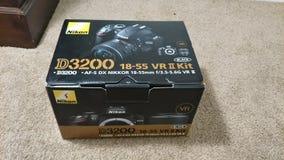 Коробка камеры Nikon стоковое фото