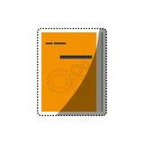 Коробка компьютера программного обеспечения иллюстрация штока