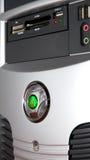Коробка компьютерной системы Стоковые Фотографии RF