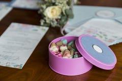 Коробка конфеты Стоковое Фото