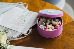 Коробка конфеты Стоковые Фото
