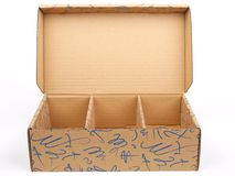 коробка коробки Стоковое Фото