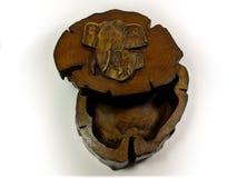 Коробка классического стиля деревянная Стоковое Фото