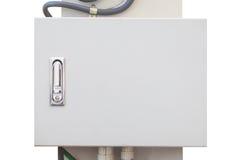 Коробка металла кабеля сети электрического Стоковое Фото
