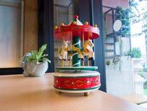 Коробка музыки Carousel Стоковая Фотография