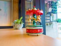 Коробка музыки Carousel Стоковые Фото