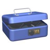 Коробка наличных денег открытая Стоковое Изображение RF