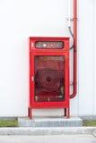 коробка огнетушителя Стоковое Фото