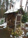Коробка дома вложенности, гостиница насекомого Стоковые Изображения