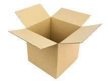 коробка открытая Стоковые Фото