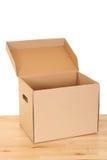 коробка открытая Стоковые Изображения RF