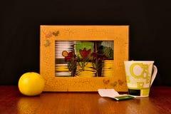 Коробка пакетиков чая Стоковые Изображения