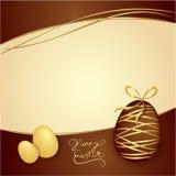 Коробка пасхи шоколадов. Предпосылка вектора тематическая. Шоколад Стоковое Изображение