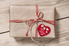 Коробка подарка год сбора винограда Стоковые Фото
