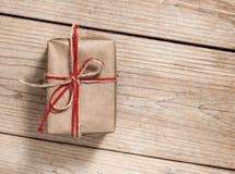 Коробка подарка год сбора винограда Стоковое Фото