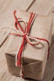 Коробка подарка год сбора винограда Стоковая Фотография