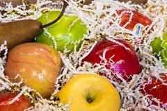 Коробка подарка плодоовощ Стоковое Изображение