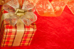 Коробка подарка рождества стоковые фото