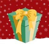 Коробка подарков на рождество Стоковая Фотография RF