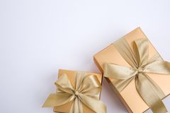 Коробка подарков присутствующая стоковые изображения rf