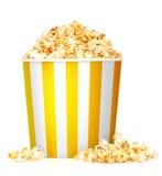 Коробка попкорна Стоковое фото RF