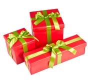 Коробка подарка рождества Стоковое Изображение RF
