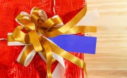 Коробка подарка рождества Стоковые Фотографии RF