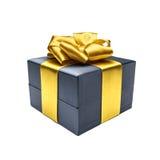 Коробка подарка с лентой Стоковые Фотографии RF