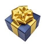 Коробка подарка с лентой Стоковое Фото