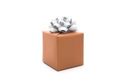 Коробка подарка с смычком Стоковые Изображения RF