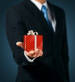 Коробка подарка Стоковые Фото