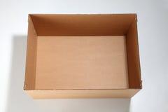 коробка пустая Стоковые Изображения RF