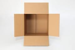 коробка пустая Стоковое фото RF