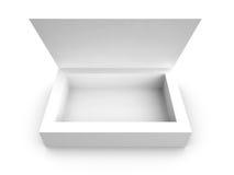 коробка пустая стоковое изображение rf