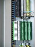 Коробка рельса терминальная Стоковая Фотография