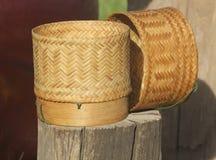 Коробка риса Стоковая Фотография