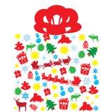 Коробка рождества Стоковые Изображения RF